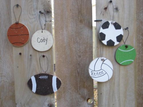 35-Sports Ornaments