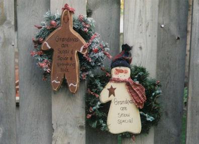 Grandparents Wreaths